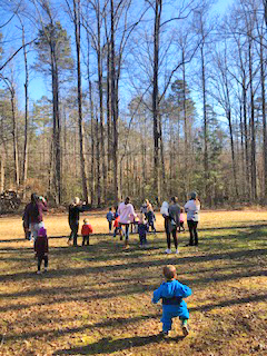 Play School at Paris Mountain with Roots and Wings Nature Community