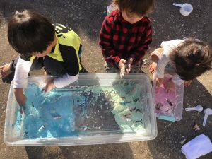 outdoor based play and learning