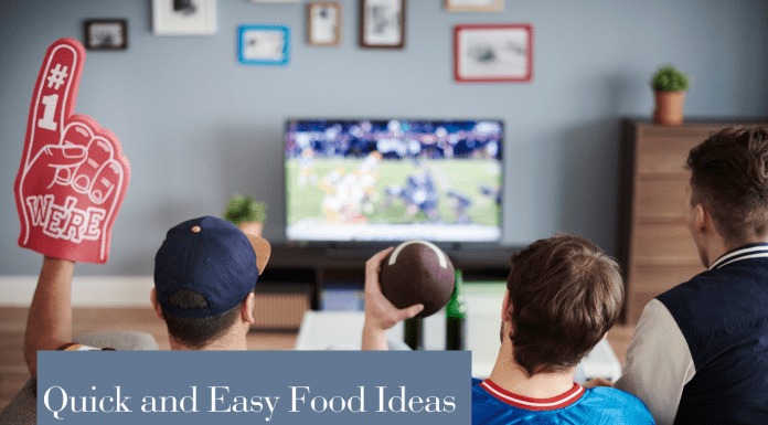 Easy foods for the big game