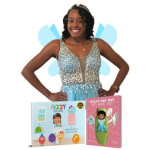 Brown tooth fairy, childrens dental book