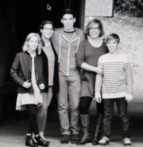 Contributor Marci with her children. Single mom with her children
