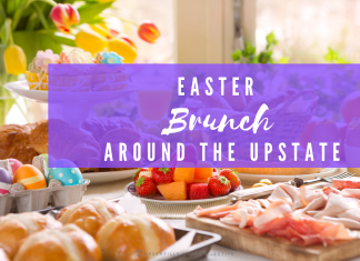 Easter Brunch around the upstate