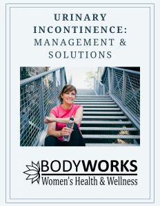 Urinary incontinence guide