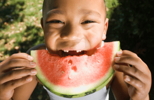child making healthy choice, not as a picky eater
