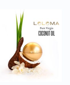 loloma coconut oil giveaway item