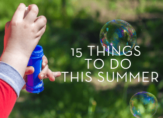 15 things to do this summer