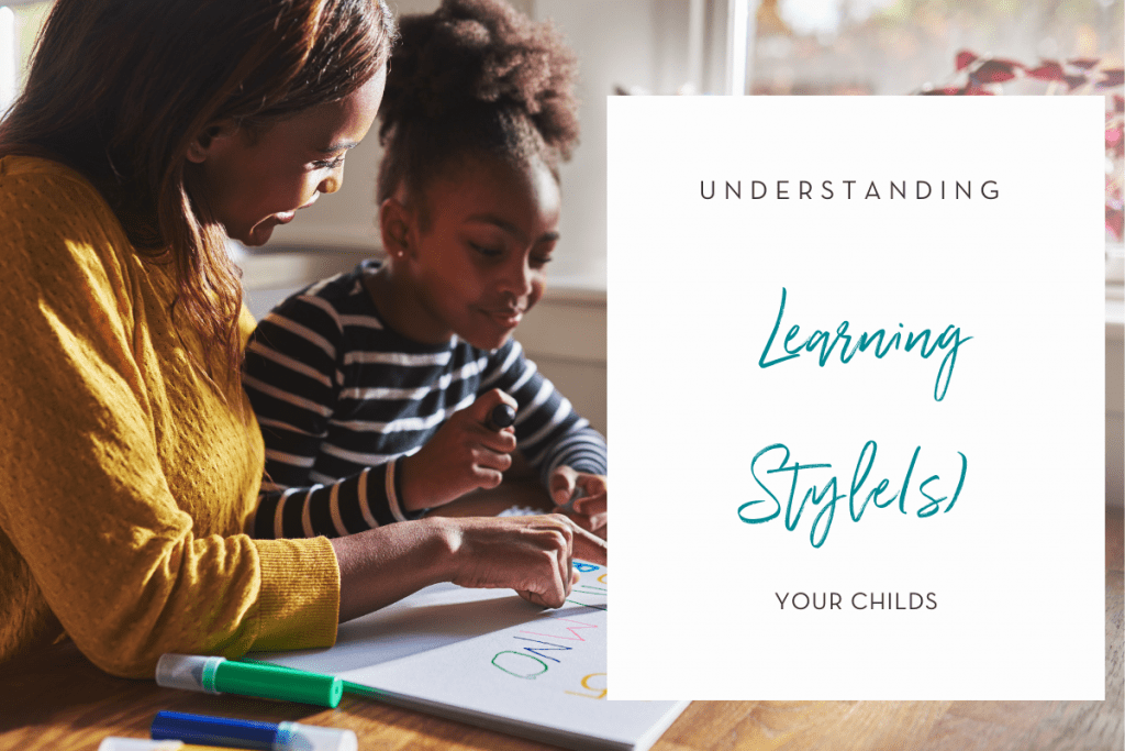 learning styles helping kids to learn