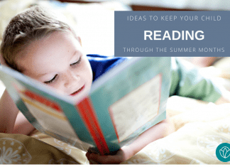 ideas to keep your child reading through summer