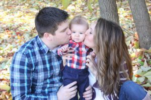 Baby Kisses mother in need of pelvic floor therapy